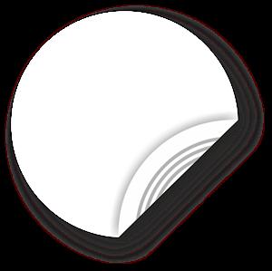 Obrázok pre výrobcu White NFC Sticker, 38mm, NTAG203