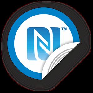Obrázek NFC štítek 50mm se znakem N-Mark