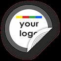 Obrázok pre výrobcu Custom Logo Round Sticker Border