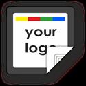 Obrázok pre výrobcu Custom Logo Square Sticker Border
