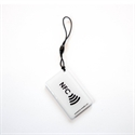 Picture of Hang tag with NFC logo Rectangle shape White