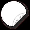 Obrázok pre výrobcu White NFC Sticker, 38mm, NTAG213