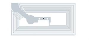 Obrázek Transparentní štítek, obdélníkový 12x20mm, NTAG213